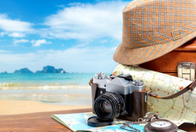 καπέλο, χάρτης, φωτογραφική